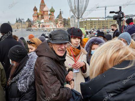 Editorial picture of Memorial of Boris Nemtsov in Moscow, Russia - 28 Feb 2021
