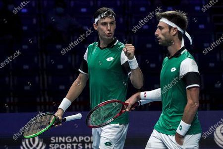 Editorial photo of Singapore Tennis Open ATP 250 - 28 Feb 2021