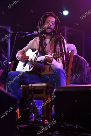 Editorial photo of Julian Marley in concert at the Old School Square Pavilion, Delray Beach, Florida, USA - 27 Feb 2021