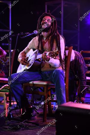 Stock Image of Julian Marley performs a semi acoustic set with The Wailers