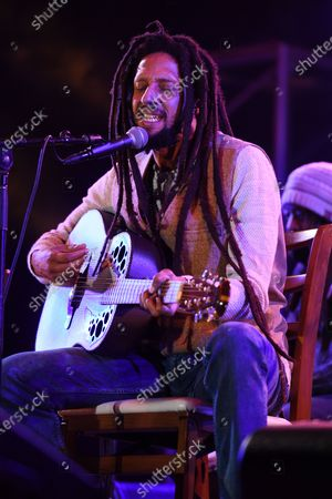 Julian Marley performs a semi acoustic set with The Wailers