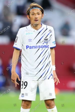 Stock Photo of Takashi Usami (Gamba) - Football / Soccer :  2021 J1 League match between  Vissel Kobe 1-0 Gamba Osaka  at Noevir Stadium Kobe in Hyogo, Japan.