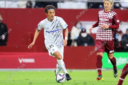 Takashi Usami (Gamba) - Football / Soccer :  2021 J1 League match between  Vissel Kobe 1-0 Gamba Osaka  at Noevir Stadium Kobe in Hyogo, Japan.