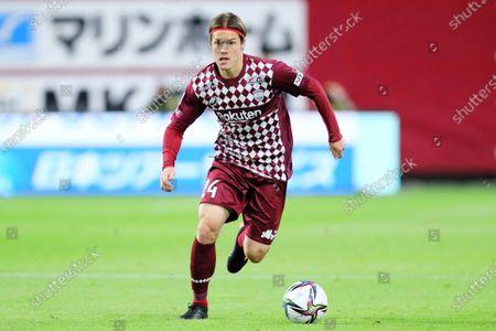 Gotoku Sakai (Vissel) - Football / Soccer :  2021 J1 League match between  Vissel Kobe 1-0 Gamba Osaka  at Noevir Stadium Kobe in Hyogo, Japan.