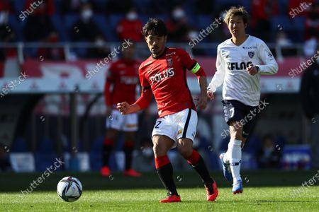 Yuki Abe (Reds) - Football / Soccer :  2021 J1 League match  between Urawa Reds 1-1 FC Tokyo  at Saitama Stadium 2002 in Saitama, Japan.