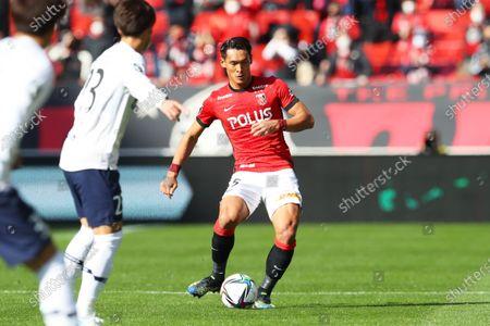 Tomoaki Makino (Reds) - Football / Soccer :  2021 J1 League match  between Urawa Reds 1-1 FC Tokyo  at Saitama Stadium 2002 in Saitama, Japan.