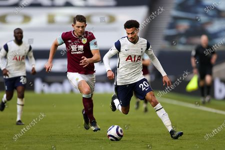 Editorial photo of Tottenham Hotspur v Burnley, Premier League - 28 Feb 2021
