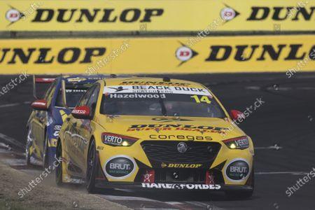 MOUNT PANORAMA CIRCUIT, AUSTRALIA - FEBRUARY 27: Todd Hazelwood, Brad Jones racing, Holden Commodore ZB at Mount Panorama Circuit on Saturday February 27, 2021 in Bathurst, Australia. (Photo by Mark Horsburgh)