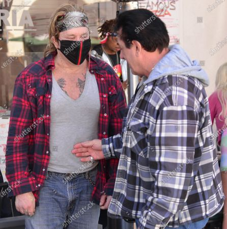 Exclusive - Mickey Rourke and Chuck Zito