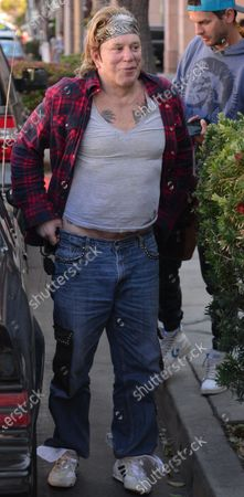Editorial picture of Exclusive - Mickey Rourke out and about, Beverly Hills, Los Angeles, California, USA - 27 Feb 2021