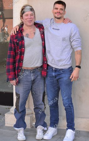 Exclusive - Mickey Rourke and MMA fighter Mickey Gall