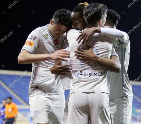 Editorial picture of Al-Fateh vs Al-Hilal, Al Hasa, Saudi Arabia - 28 Feb 2021