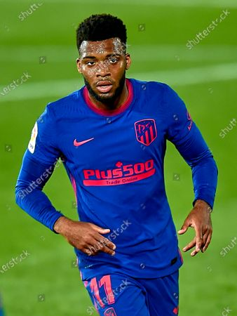 Stock Photo of Thomas Lemar of Atletico de Madrid