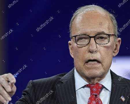 Larry Kudlow, Former Assistant to the President for Economic Policy, addresses attendees at the Conservative Political Action Conference