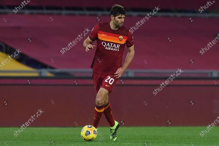 Federico Fazio of Roma in action