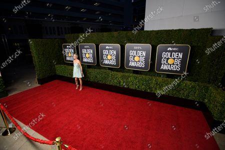 Editorial photo of 78th Golden Globe Awards, Arrivals, Los Angeles, California, USA - 28 Feb 2021