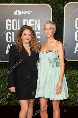 Editorial image of 78th Golden Globe Awards, Arrivals, Los Angeles, California, USA - 28 Feb 2021