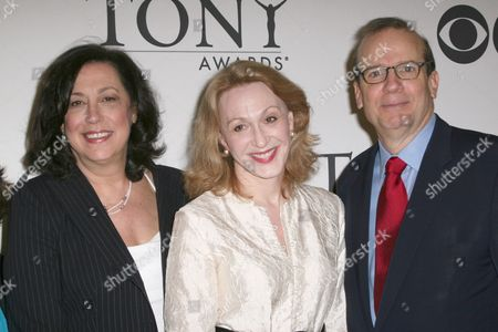 Lynne Meadow, Jan Maxwell and Barry Grove