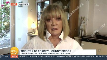 Editorial photo of 'Good Morning Britain' TV Show, London, UK - 01 Mar 2021