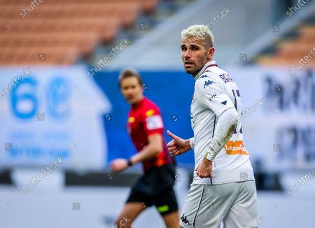 Valon Behrami of Genoa CFC in action