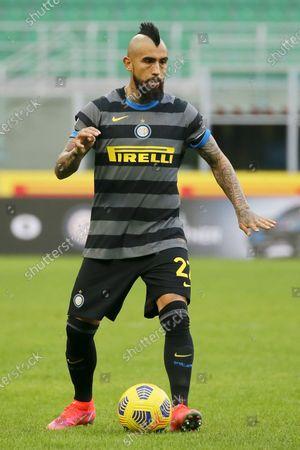 Editorial photo of FC Internazionale v Genoa CFC, Serie A, Football, Stadio Giuseppe Meazza, Milan, Italy - 28 Feb 2021