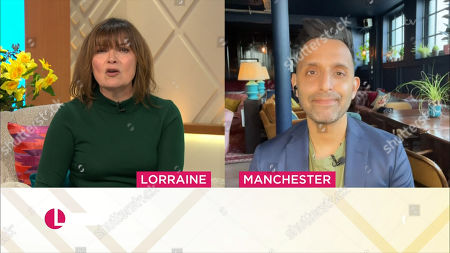 Editorial picture of 'Lorraine' TV Show, London, UK - 01 Mar 2021