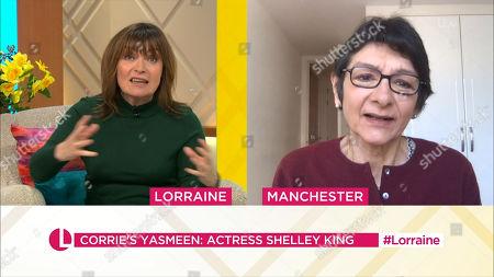 Editorial photo of 'Lorraine' TV Show, London, UK - 01 Mar 2021
