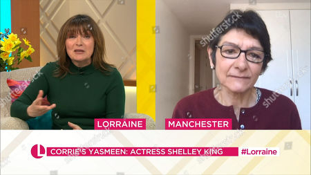 Lorraine Kelly and Shelley King