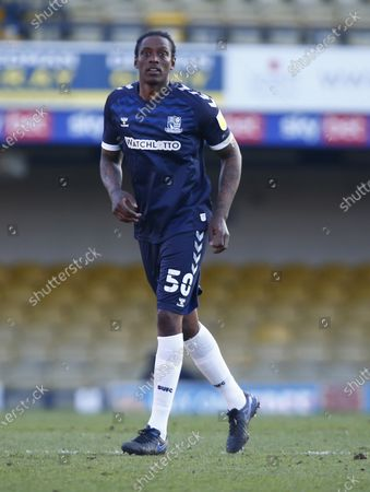 Editorial photo of Southend United v Salford City, Sky Bet League Two, Football, Roots Hall Stadium, Southend, UK - 27 Feb 2021