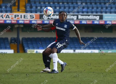 Nile Ranger of Southend United during Sky Bet League Two between Southend United and Salford City at Roots Hall Stadium , Southend, UK on 27th February 2021  (Photo by Action Foto Sport/NurPhoto)