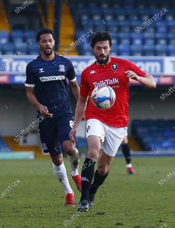 Editorial picture of Southend United v Salford City, Sky Bet League Two, Football, Roots Hall Stadium, Southend, UK - 27 Feb 2021