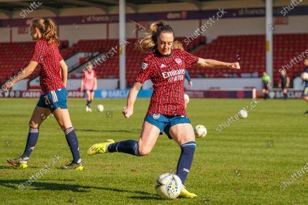 Editorial photo of Aston Villa vs Arsenal, Womens Super League, Banks's Stadium Walsall, England, UK - 28 Feb 2021
