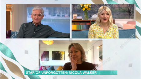 Phillip Schofield, Holly Willoughby and Nicola Walker