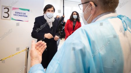 Editorial image of Soignies Chr Haute Senne Covid-19 Vaccination, Soignies, Belgium - 01 Mar 2021