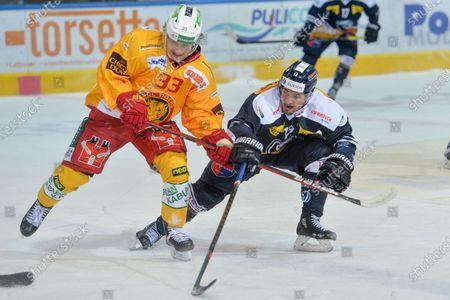 Editorial picture of National League: HC Ambri-Piotta vs SCL Tigers, Ambri, Switzerland - 28 Feb 2021