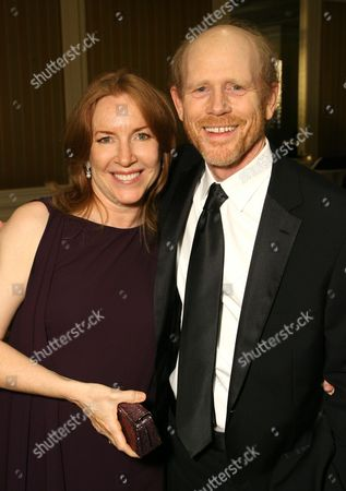 Stock Image of Cheryl Alley Howard and Ron Howard
