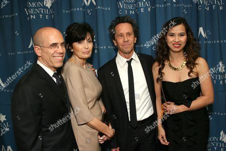 Jeffrey and Marilyn Katzenberg with Brian Grazer and Chau-Giang Thi Nguyen