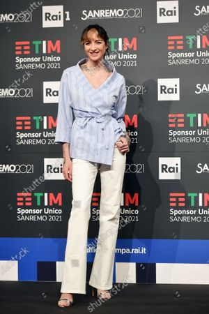 Editorial image of 71st Sanremo Music Festival, photocall, Sanremo, Italy - 01 Mar 2021