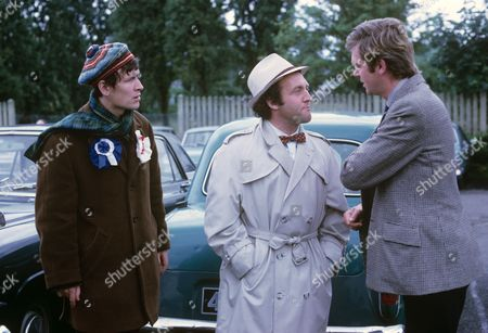 Stock Image of David Kincaid, Norman Rossington and Barry Justice