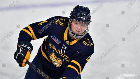 Editorial photo of Quinnipiac Hockey, Canton, United States - 26 Feb 2021