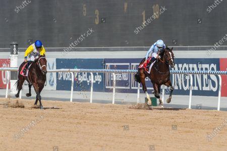 PANADOL (USA ridden by Mickael Barzalona wins the 9.5F Listed Al Bastakiya Sponsored By Arabian Adventures, race 1, at Super Saturday Meydan Dubai World Cup Carnival.