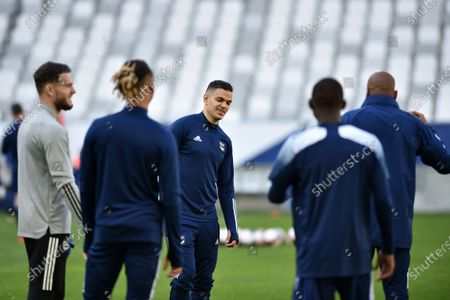 Hatem Ben Arfa Girondins de Bordeaux warm-up