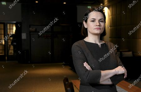 Editorial image of Belarussian opposition leader Svetlana Tikhanovskaya visits Finland, Helsinki - 01 Mar 2021