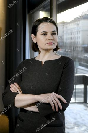 Editorial photo of Belarussian opposition leader Svetlana Tikhanovskaya visits Finland, Helsinki - 01 Mar 2021