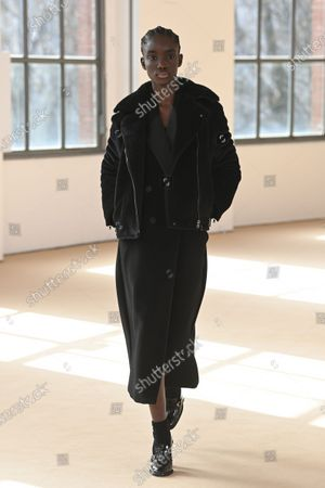 Editorial picture of Womenswear, winter 2021, ready to wear, fashion show, Milano, Italy - Mar 2021
