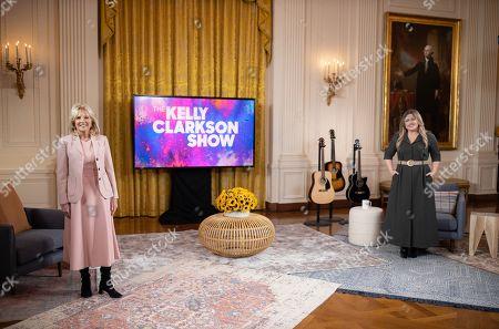 Editorial image of Jill Biden on 'The Kelly Clarkson Show', Washington, DC, USA - 20 Feb 2021