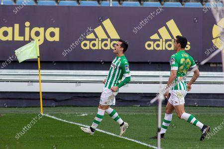 Editorial photo of Spanish football La Liga match, Cadiz CF vs Real Betis Balompie, Cadiz, Spain - 28 Feb 2021