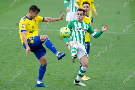 Editorial image of Spanish football La Liga match, Cadiz CF vs Real Betis Balompie, Cadiz, Spain - 28 Feb 2021