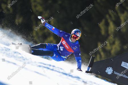 Editorial image of Finals FIS Snowboard Alpine World Championship in Rogla, Slovenia  - 01 Mar 2021