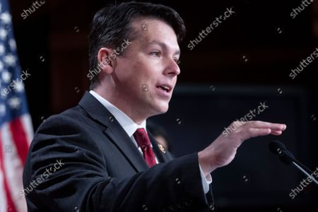 Democratic Representative from Pennsylvania Brendan Boyle participates in a news conference held to introduce the 'Ultra-Millionaire Tax Act', on Capitol Hill in Washington, DC, USA, 01 March 2021. The measure would hike the taxes of the extremely wealthy in an attempt to create revenue to offset income disparities and lost federal funds due to the coronavirus COVID-19 pandemic.